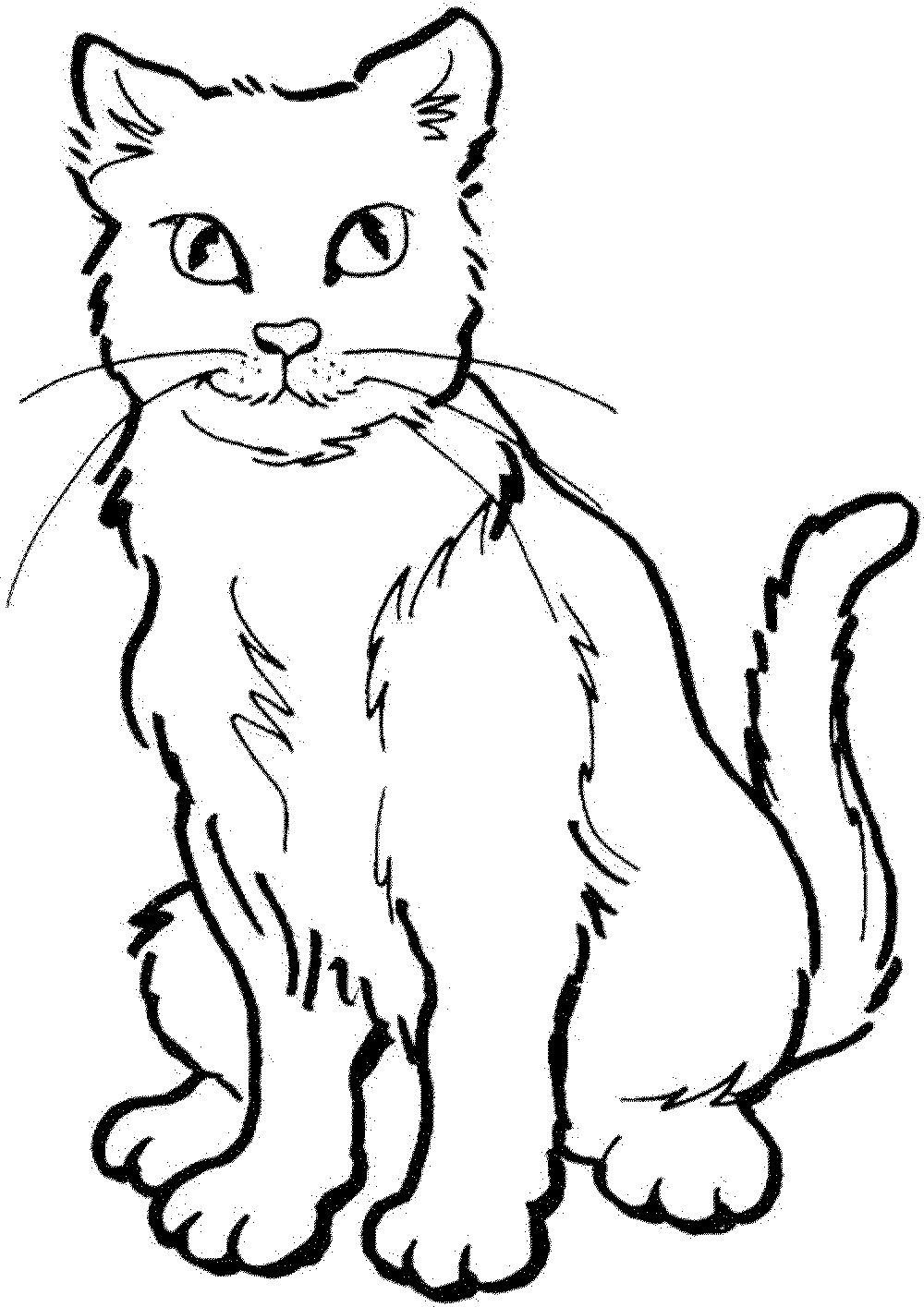 warrior cats coloring pages - Cats Coloring Pages