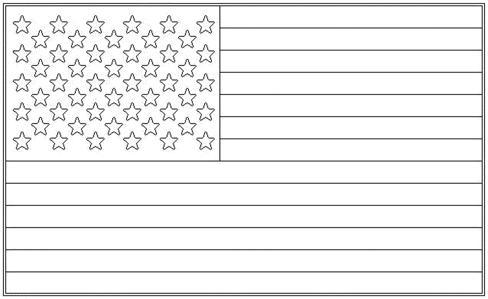 Superb American Flag Coloring Sheet Kindergarten