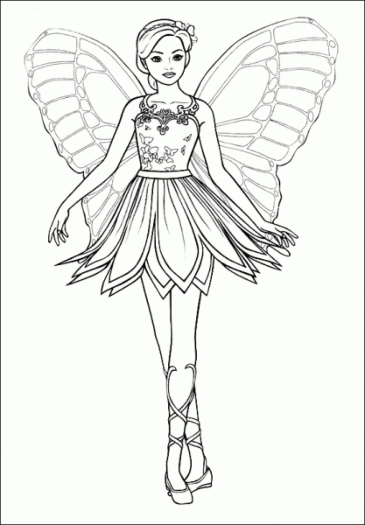 barbie-princess-coloring-pages | | BestAppsForKids.com
