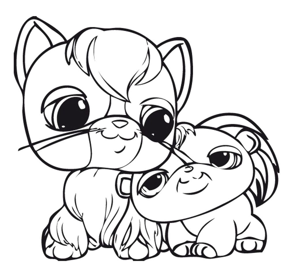 shop related products - Littlest Pet Shop Coloring Pages