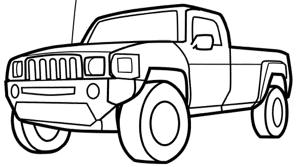 Cars Trucks Coloring Pages Bestappsforkids