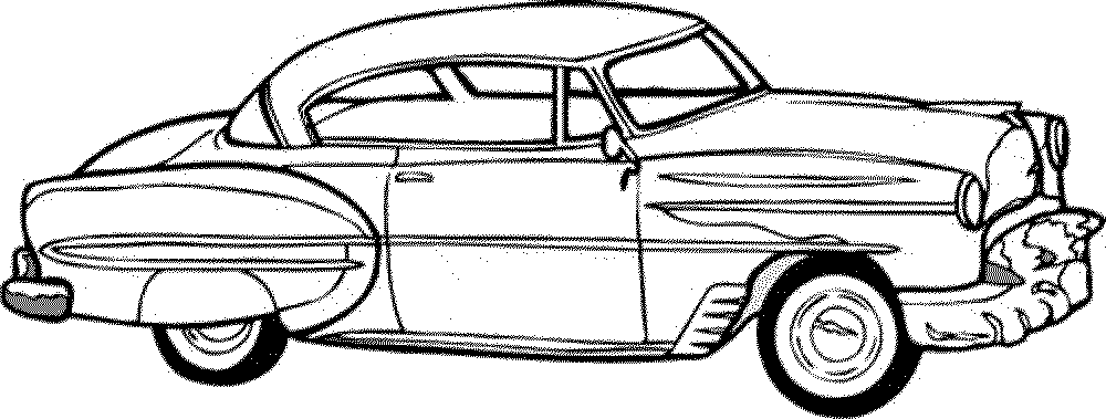 Print & Download - Kids Cars Coloring Pages
