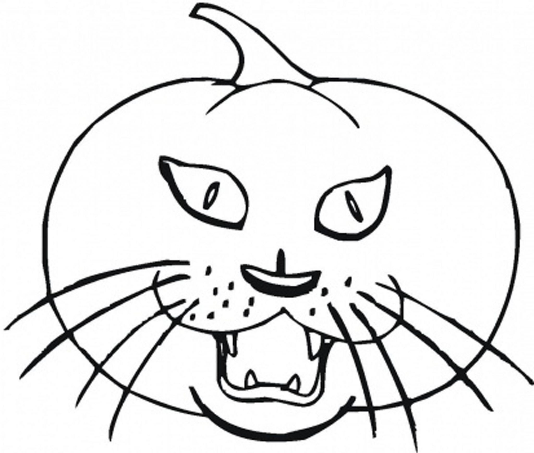 Print download pumpkin coloring pages and benefits of for Halloween printable color pages