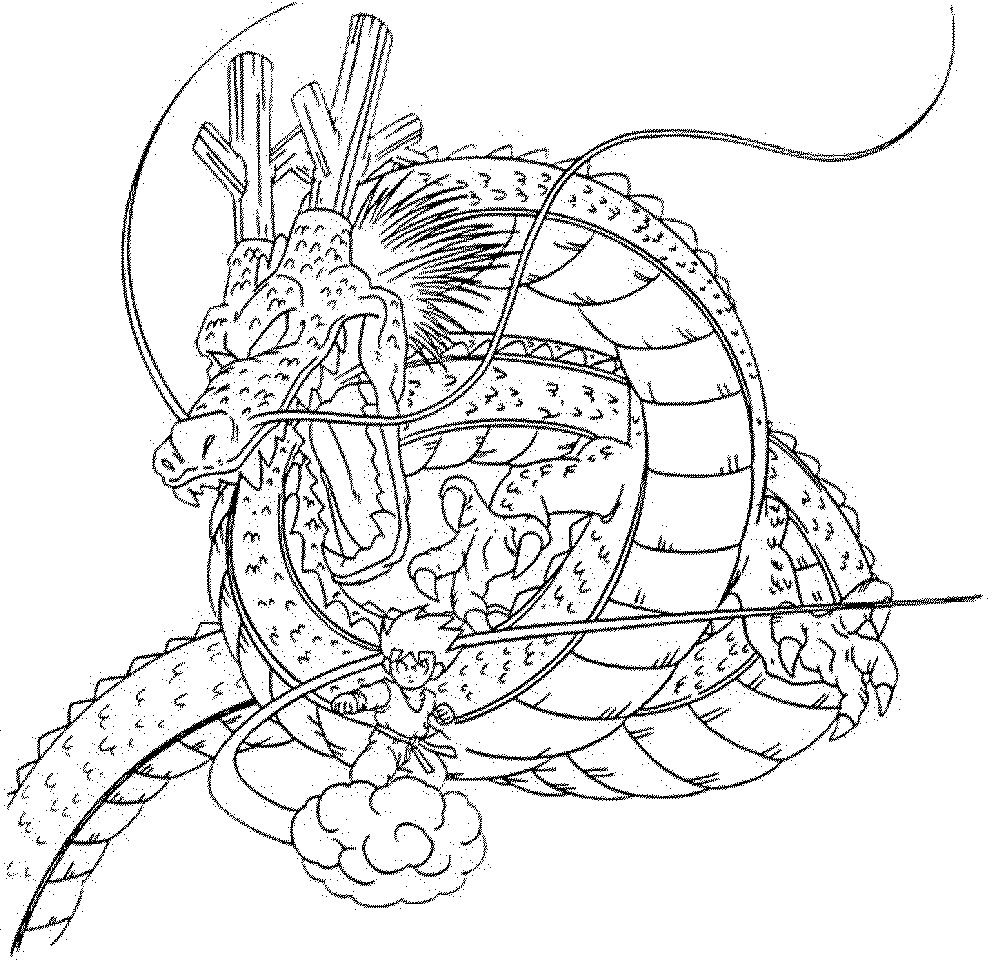 chinese dragon coloring page - Dragons Coloring Pages