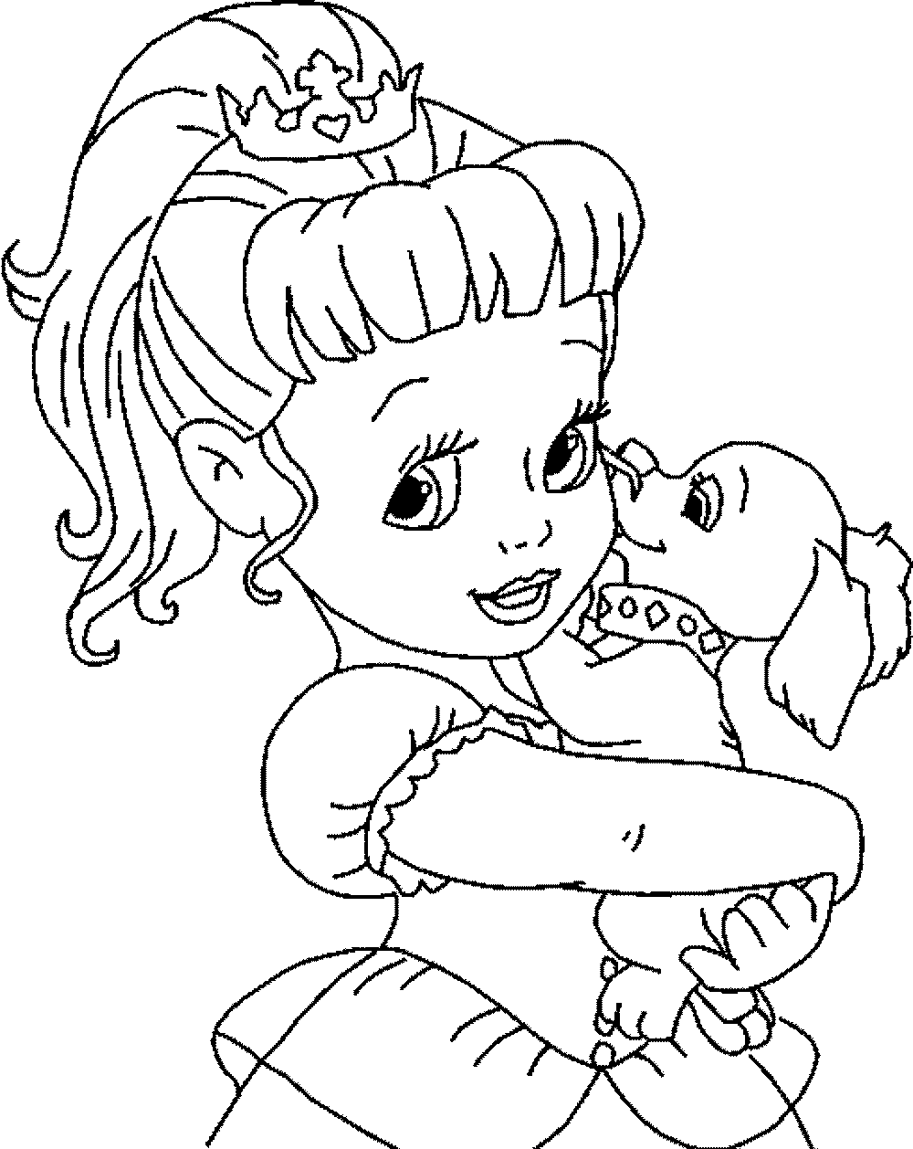 Print download impressive cinderella coloring pages - Disney coloring kids ...