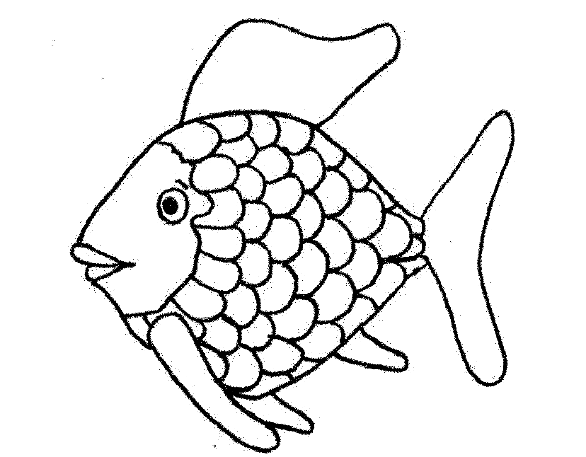Print download cute and educative fish coloring pages for Printable fish coloring pages