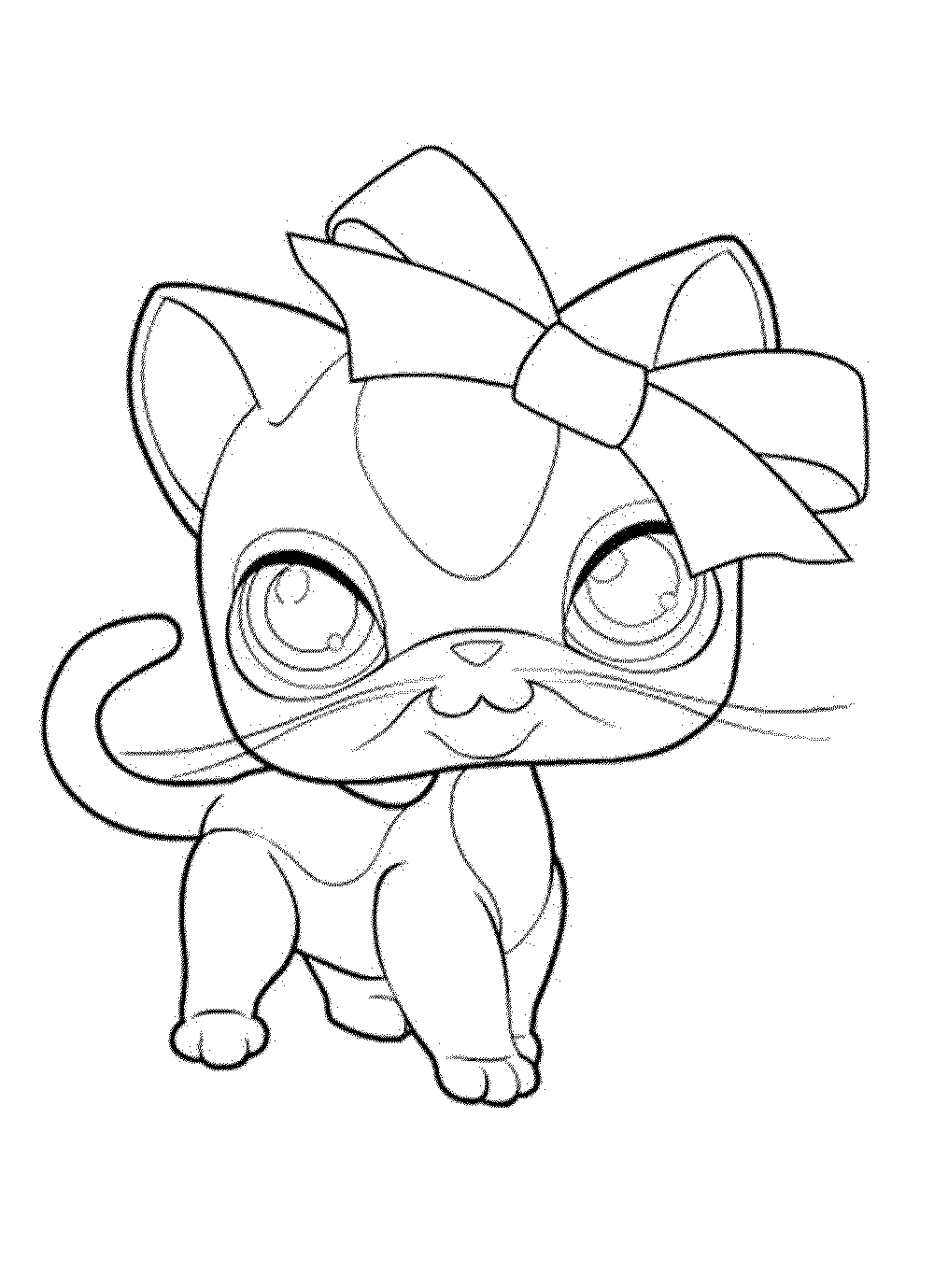 coloring pages of littlest pet shop - Littlest Pet Shop Coloring Page