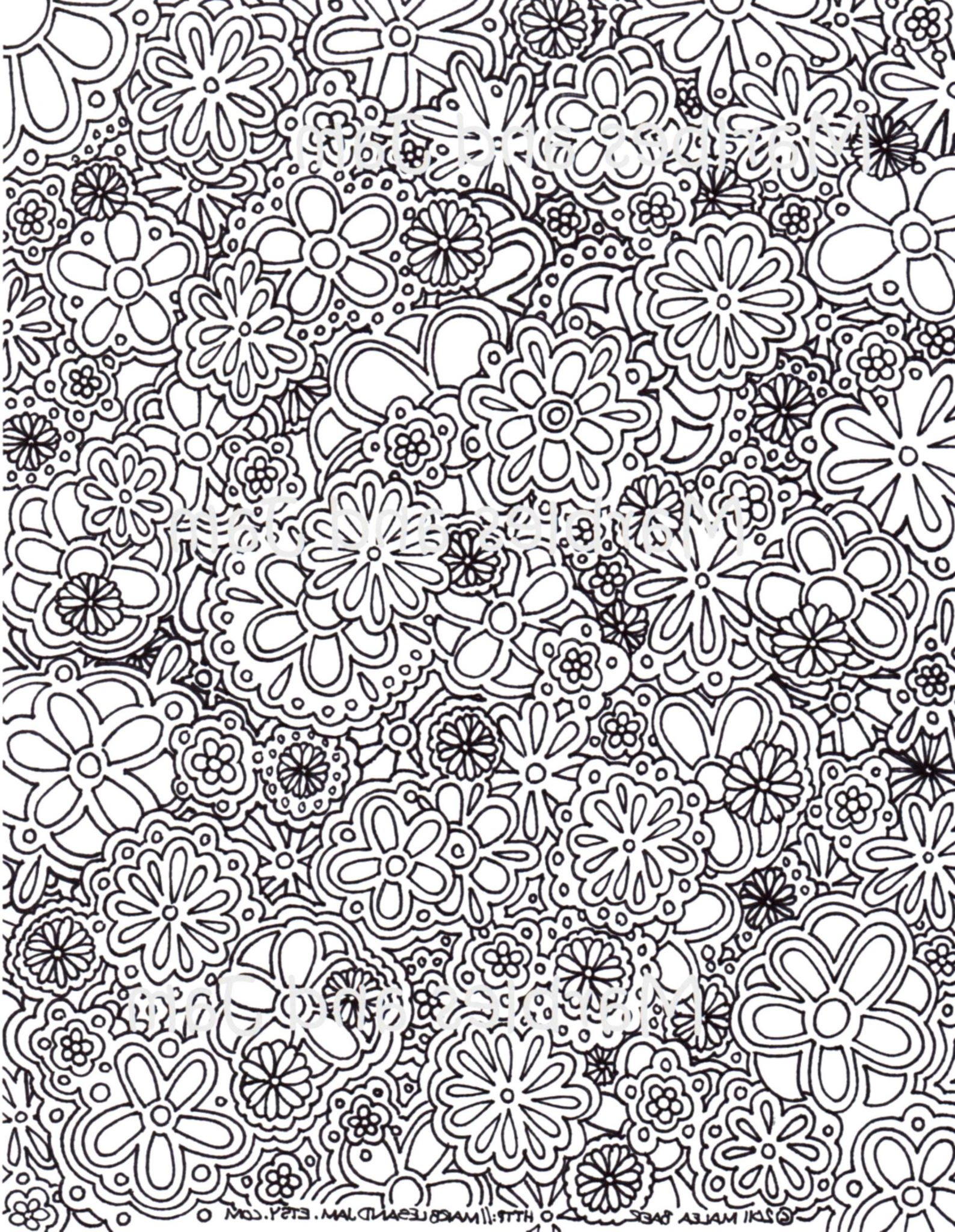 complex coloring pages online - photo#3