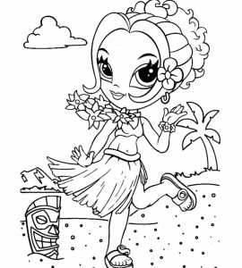 lisa frank coloring pages people working | Print & Download - Cross Your Imagination Colors with Lisa ...