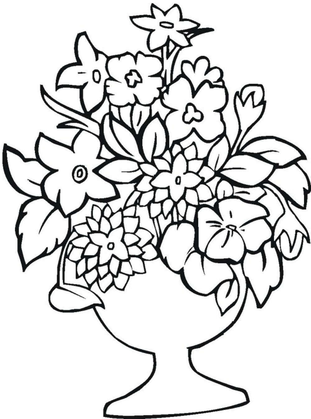 coloring flower pages - print download some common variations of the flower