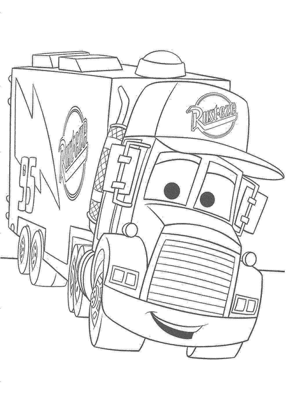 disney cars coloring page - Disney Cars Coloring Pages