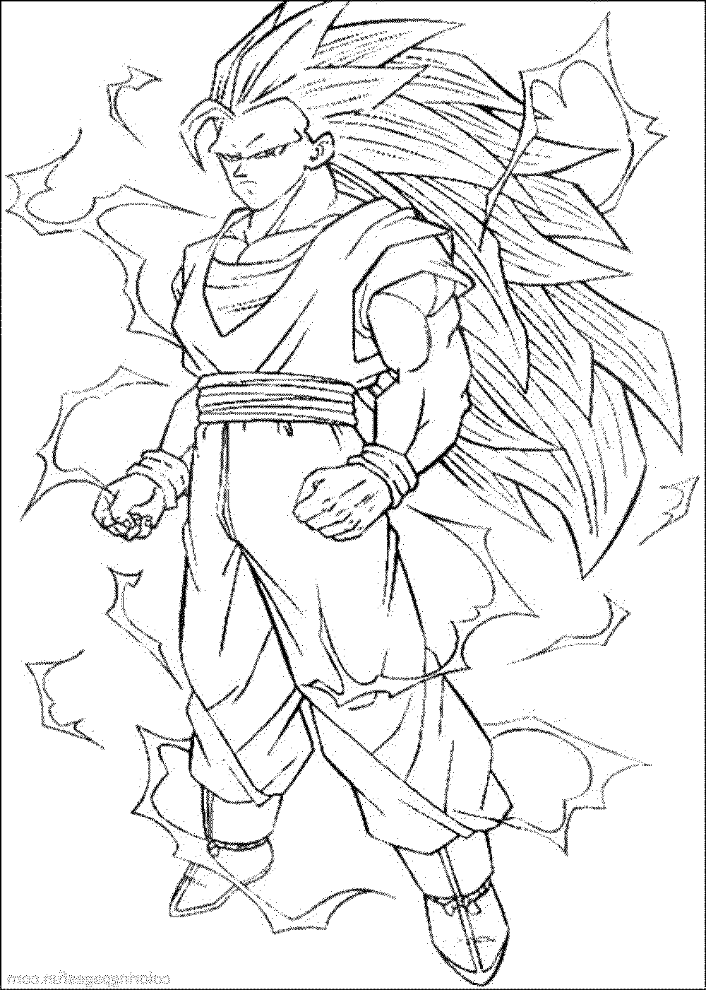 Color the dragon coloring pages in websites for Dragon ball z kai coloring pages