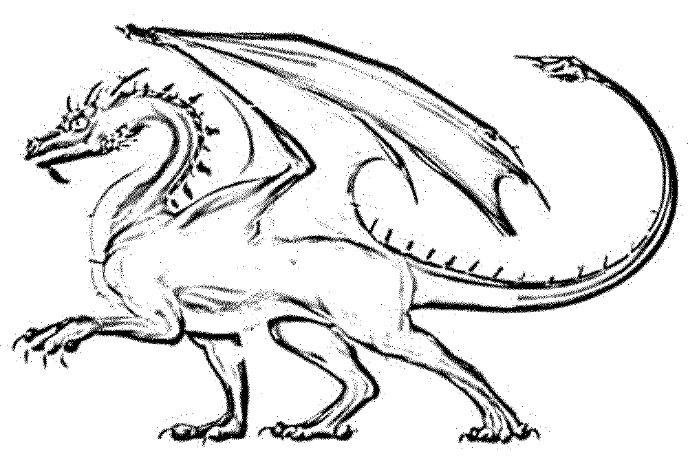 dragon coloring pages for kids BestAppsForKidscom