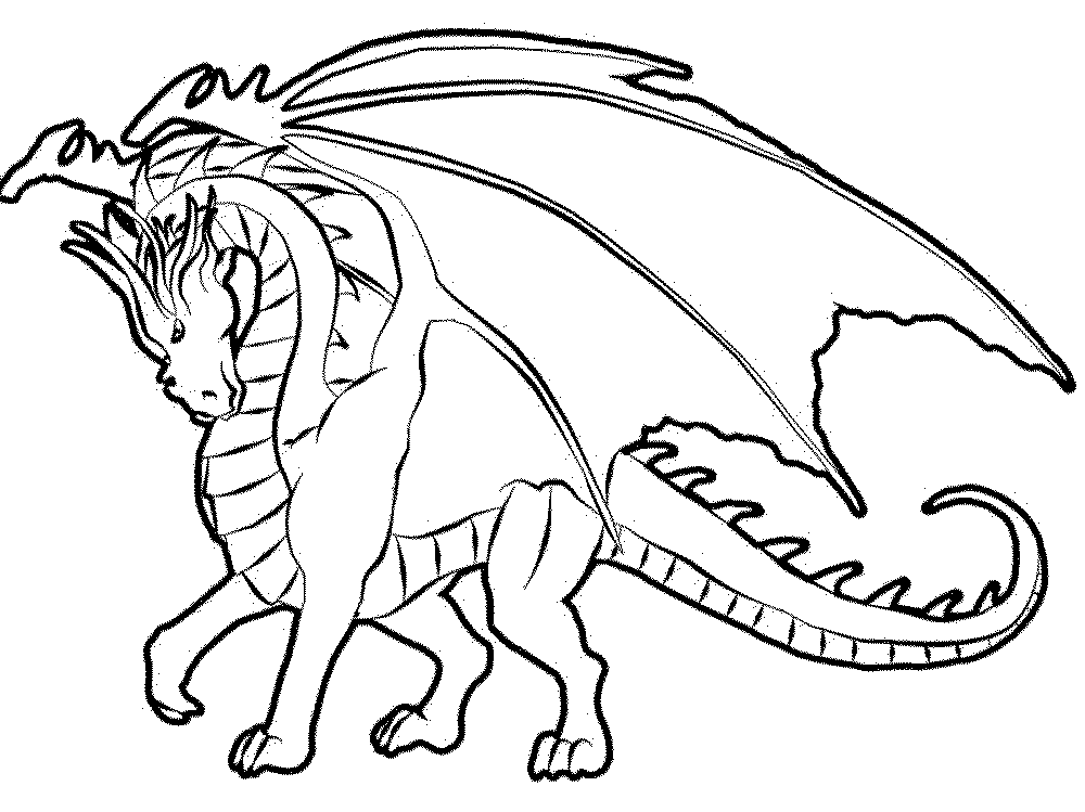 Color the Dragon Coloring Pages in Websites