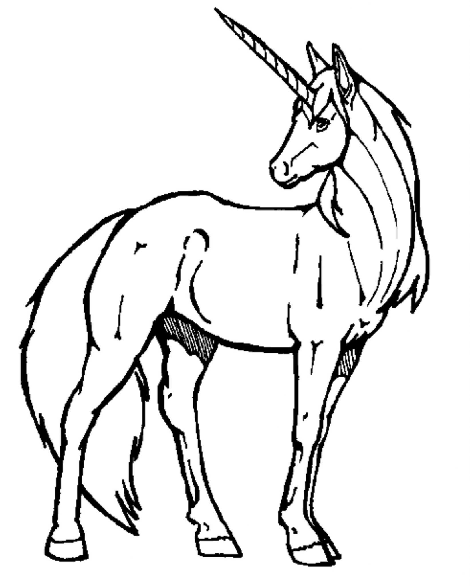 easy-unicorn-coloring-pages | | BestAppsForKids.com