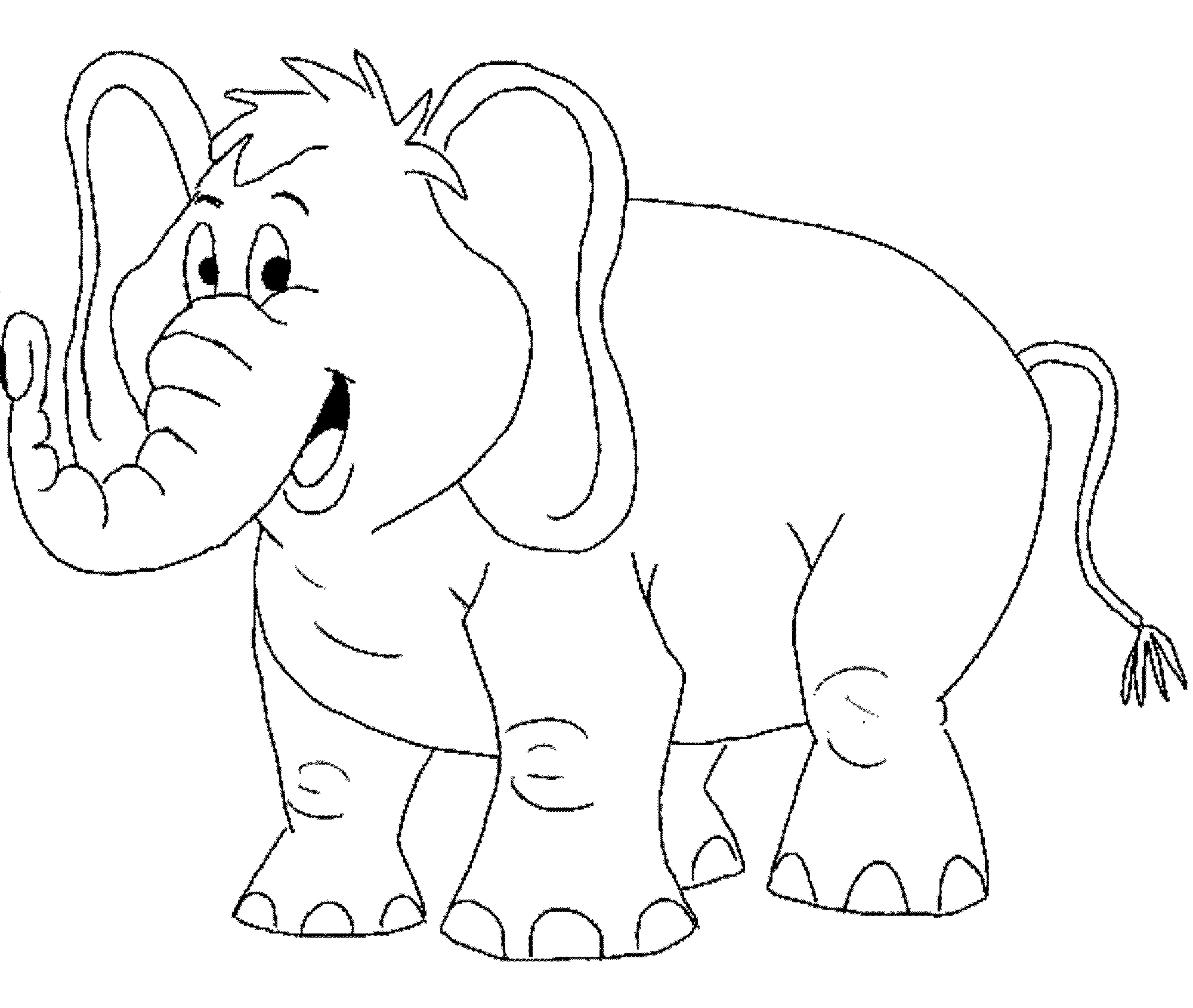 toddler coloring pages to print. elephant coloring pages for toddlers Print  Download Teaching Kids through Elephant Coloring Pages
