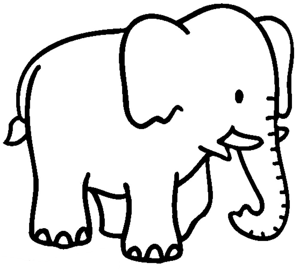 Elephant Coloring Pages Bestappsforkids Com