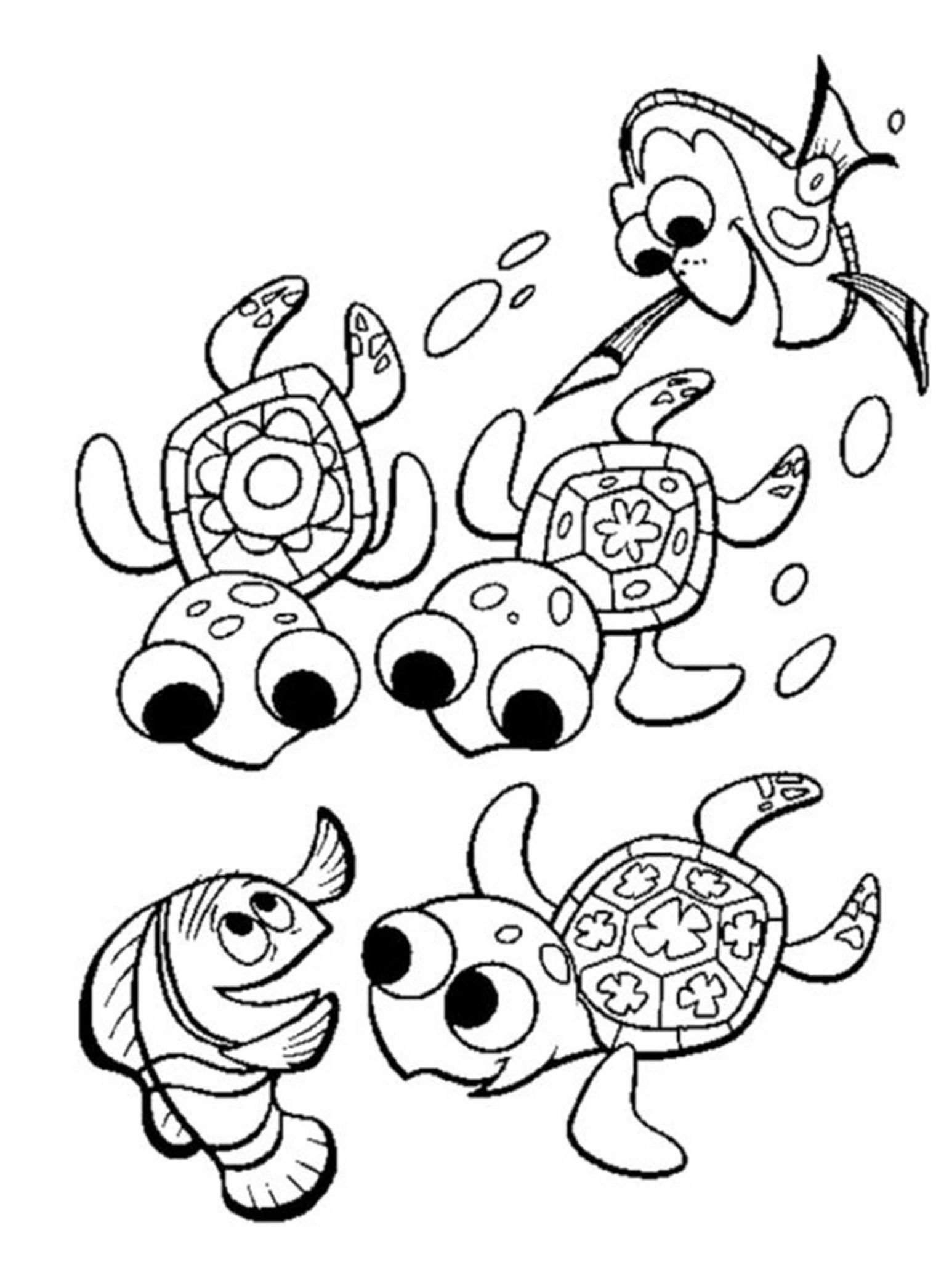 Print Download Turtle Coloring Pages as the Educational Tool