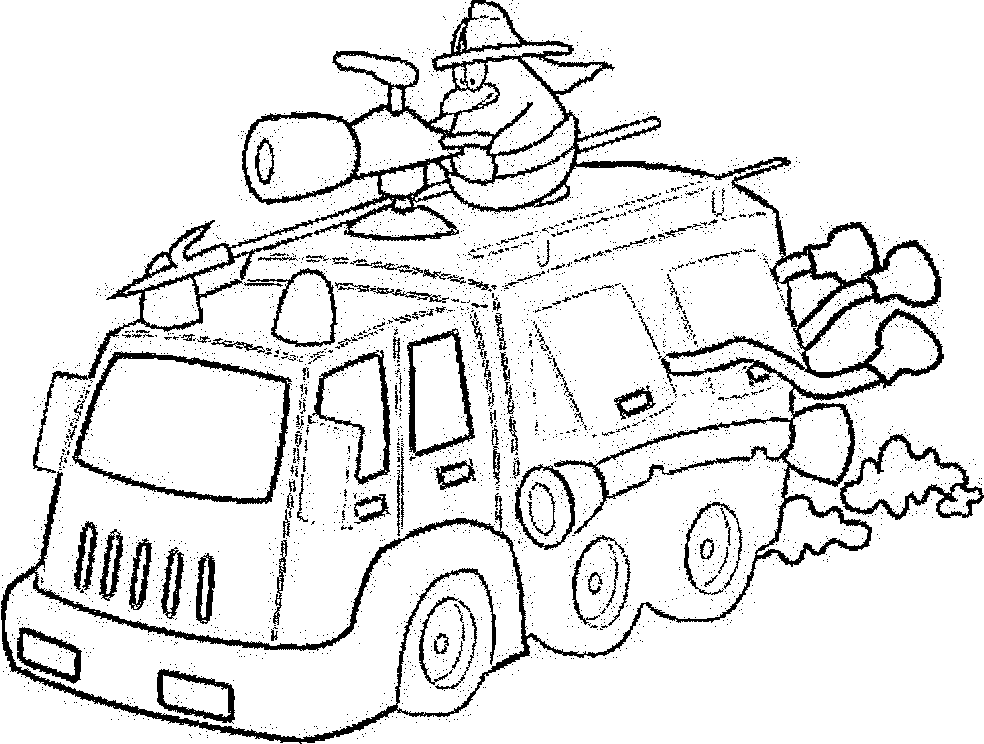 Print & Download - Educational Fire Truck Coloring Pages ...