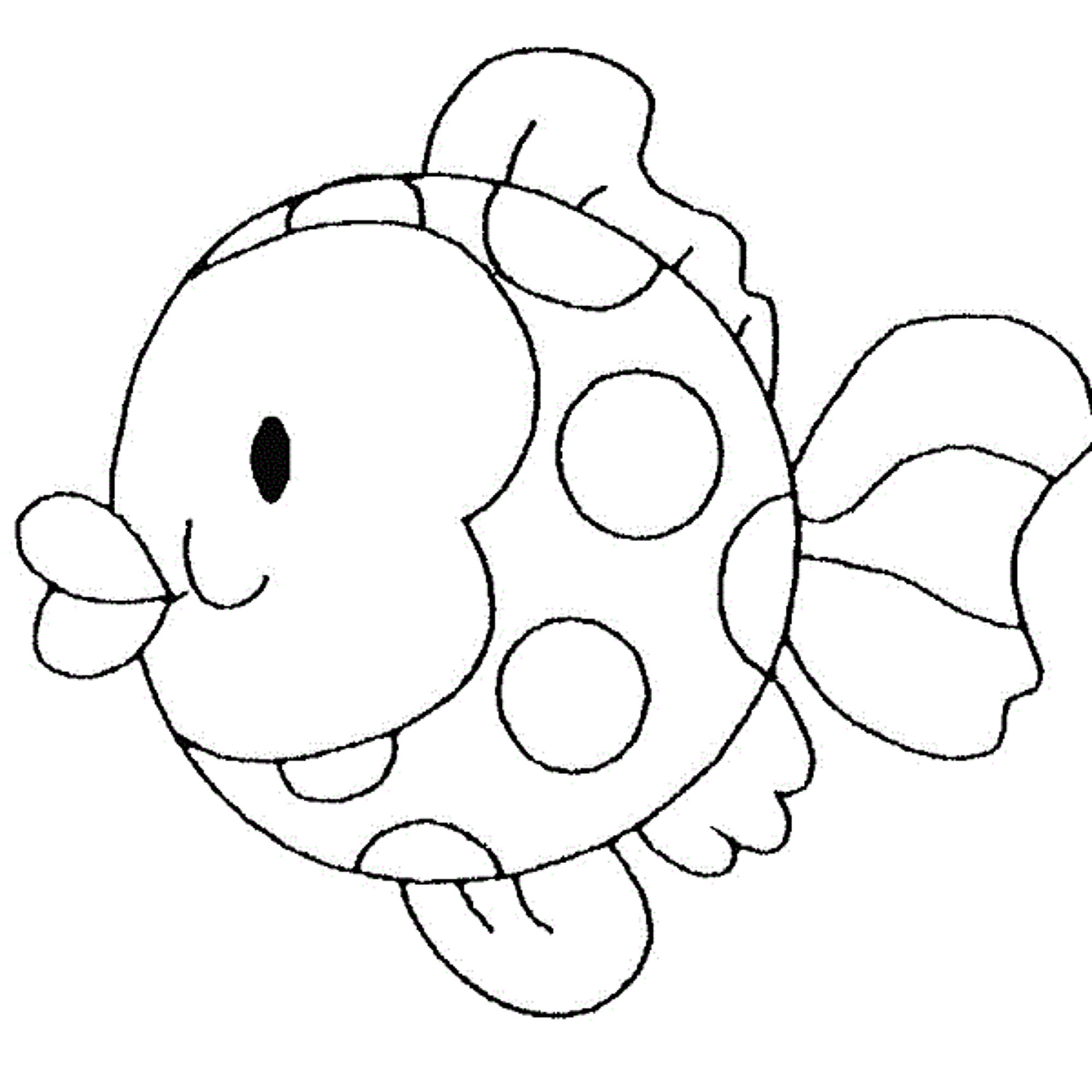 fish coloring pages for toddlers - photo#42