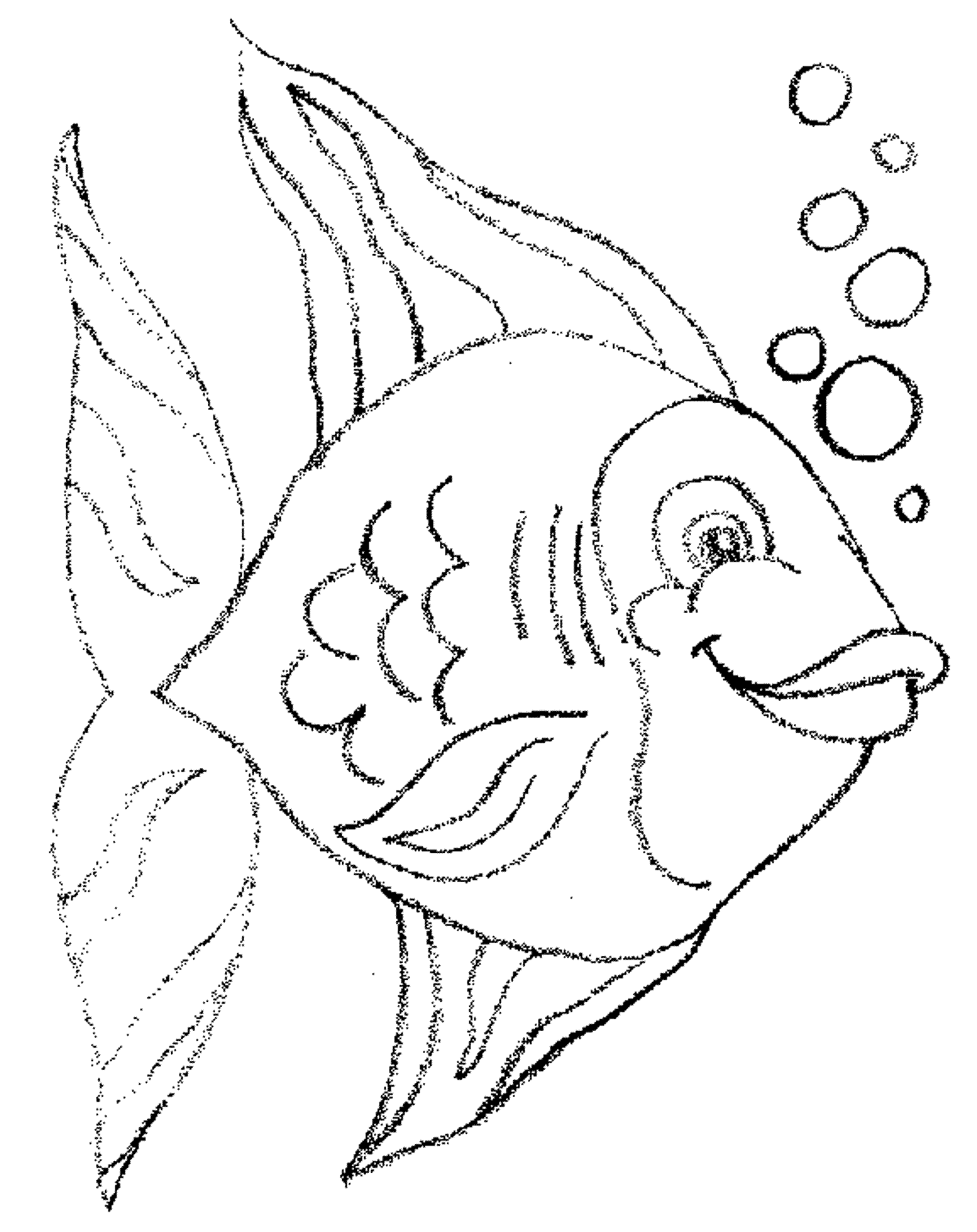 fish coloring pages free - Fishing Coloring Pages