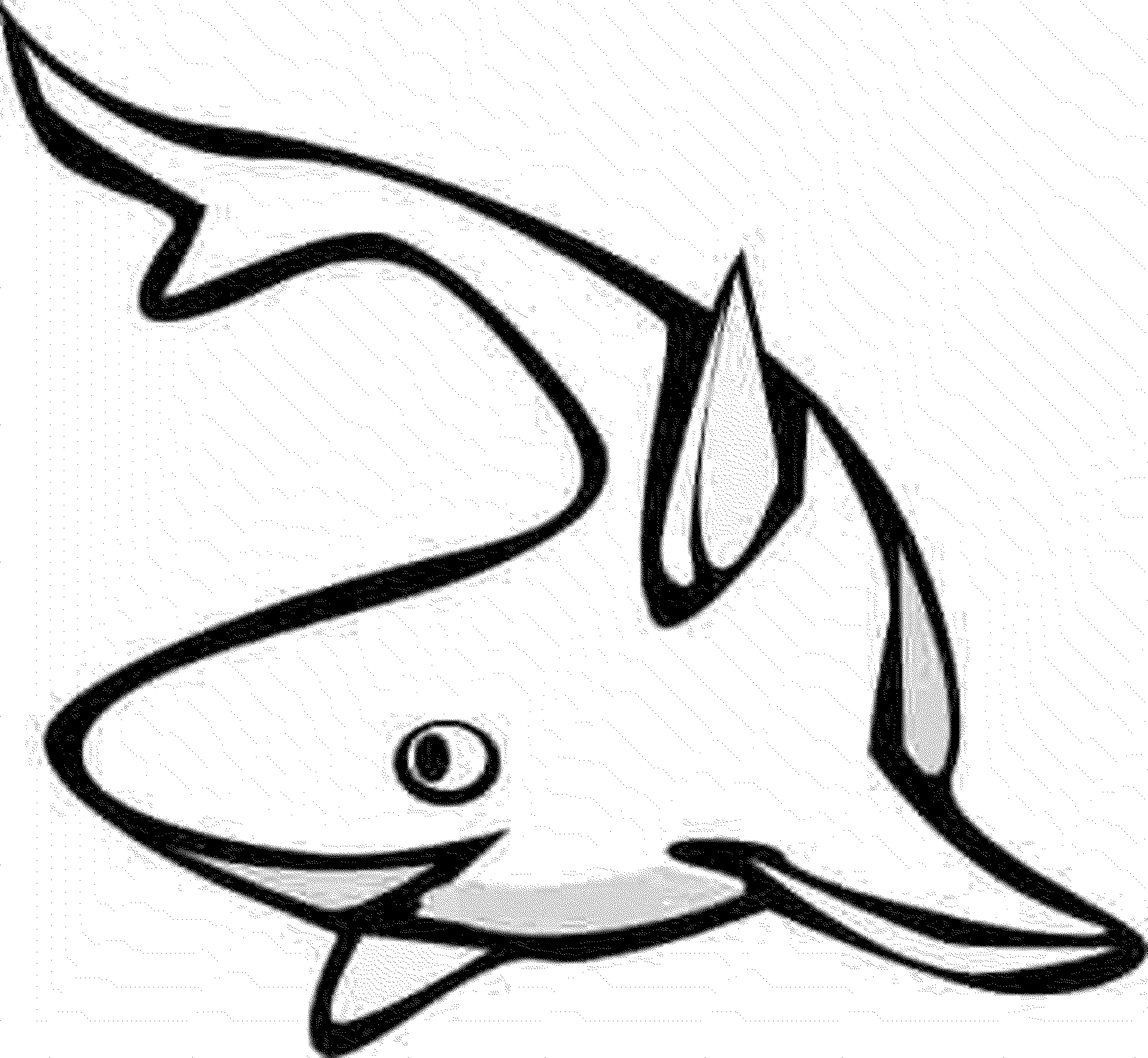 Print download cute and educative fish coloring pages for Fish coloring pages for preschool