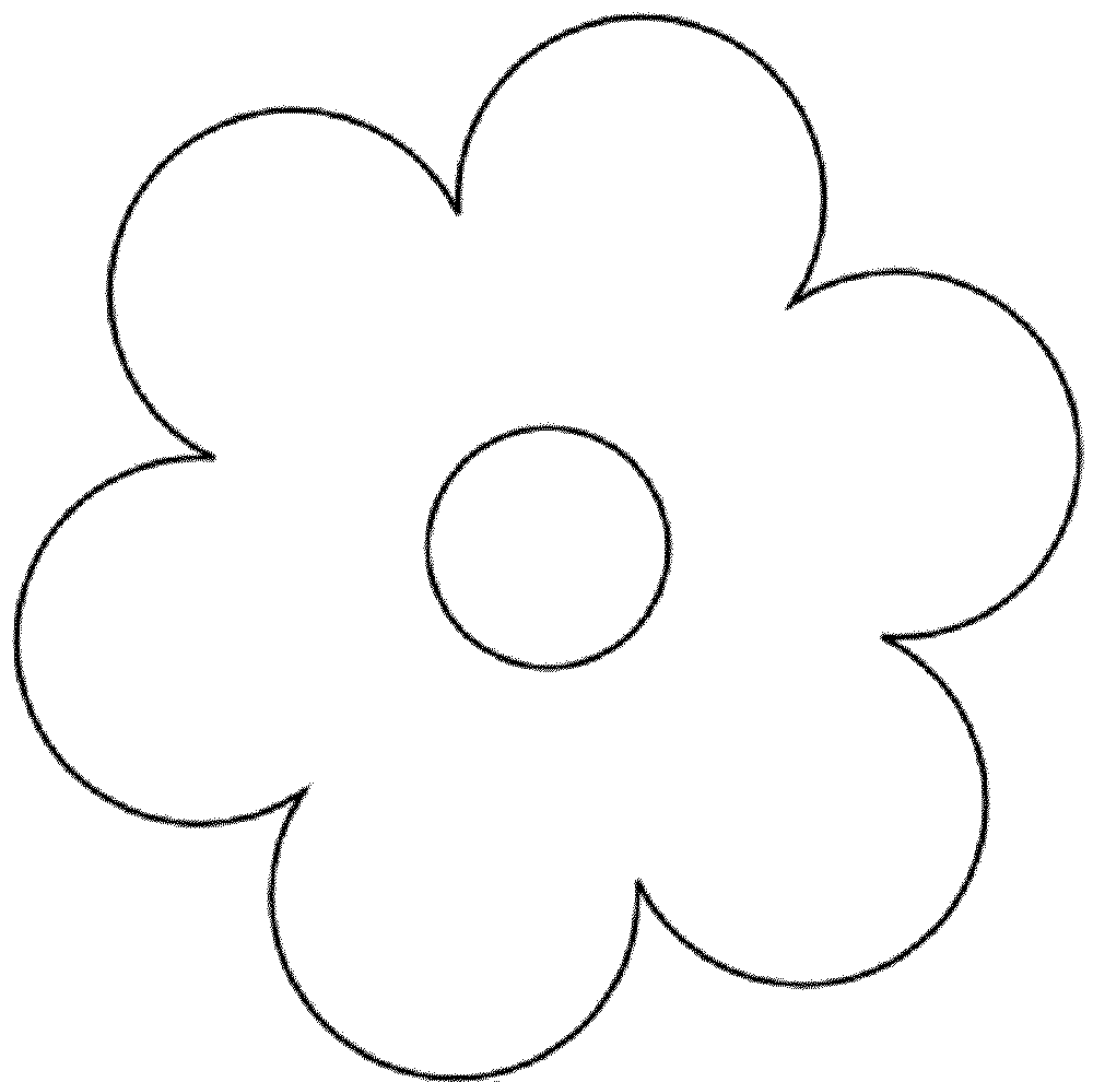 Coloring flower - Gallery Of Some Common Variations Of The Flower Coloring Pages