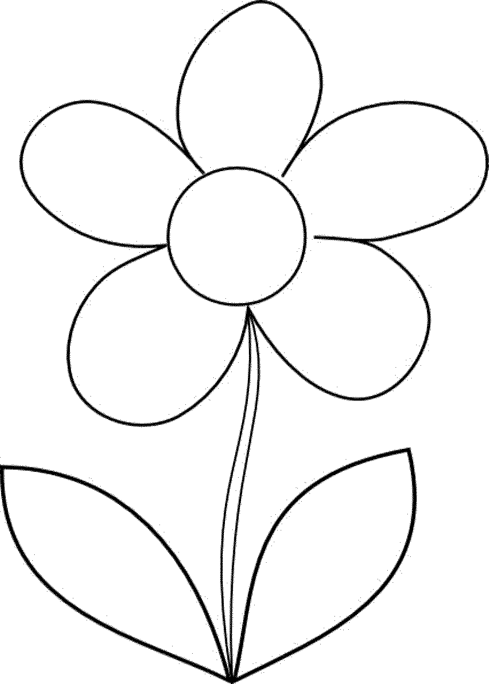 Beautiful The Flower Coloring Pages ...