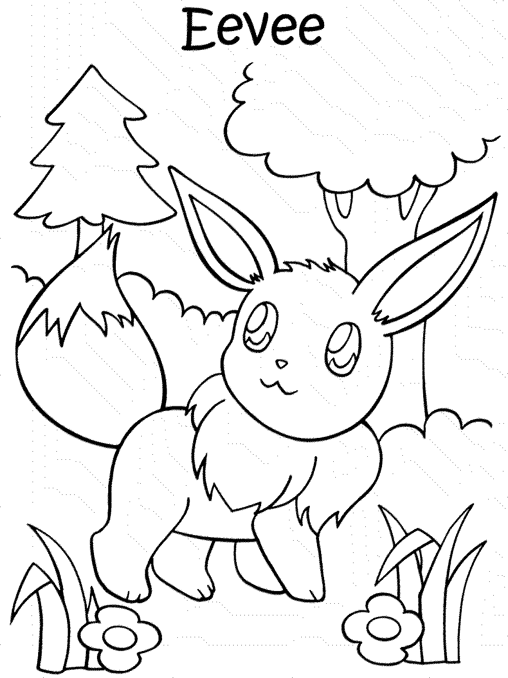 93 Printable Pokemon Coloring Pages Your Toddler Will Love ... | 1333x1000