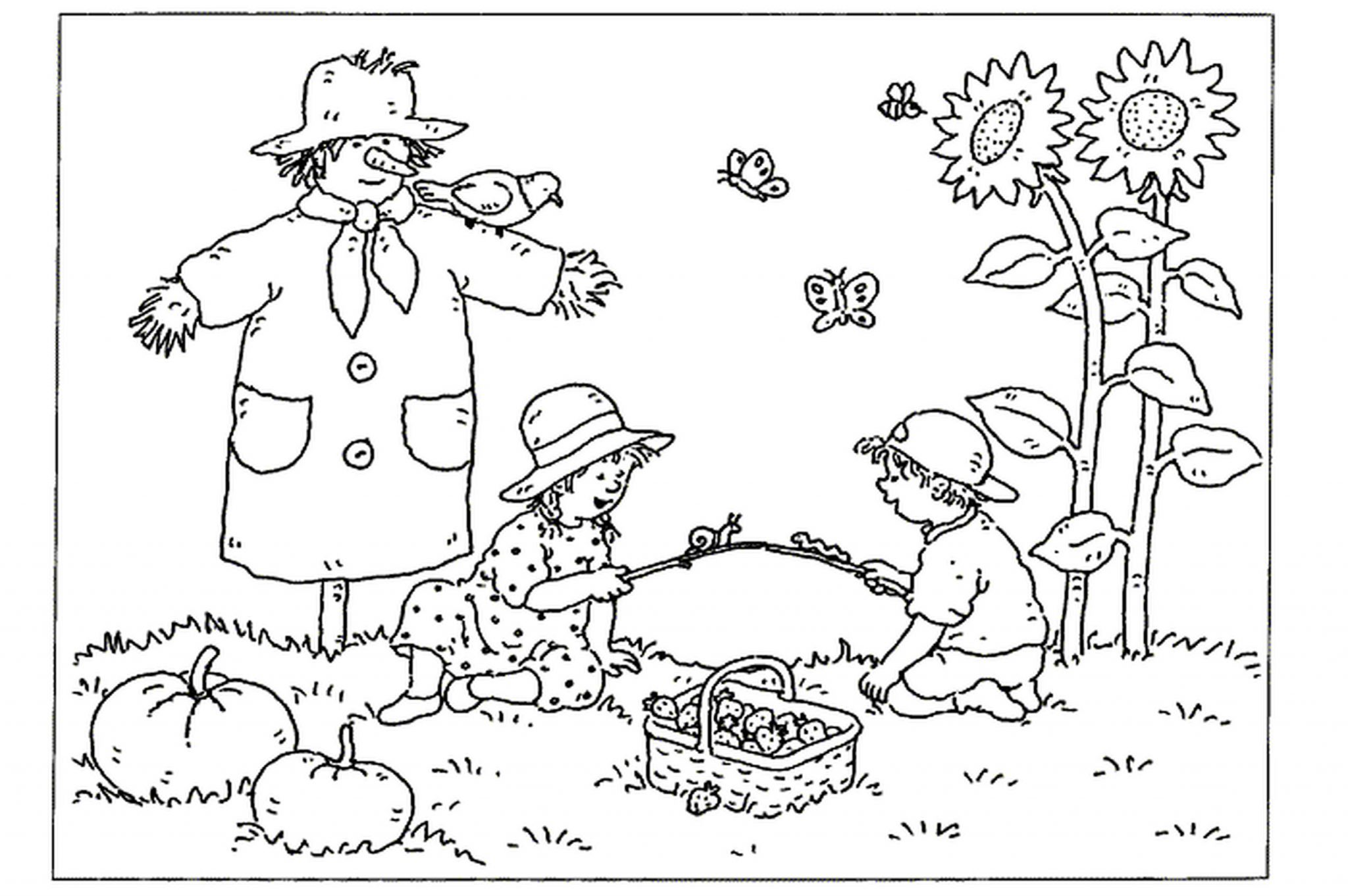 free fall coloring pages for kids BestAppsForKidscom