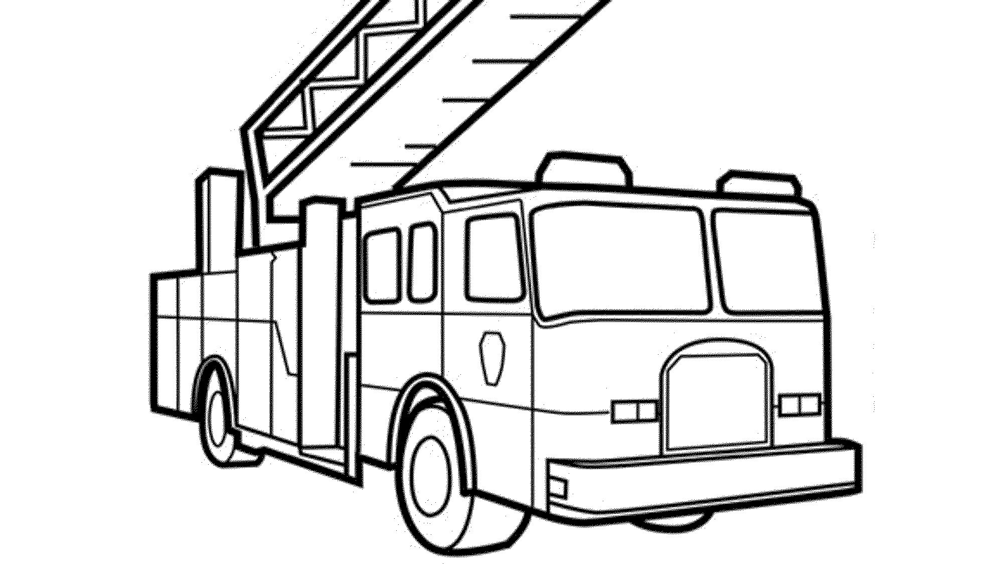 Free fire truck coloring pages for Free truck coloring pages
