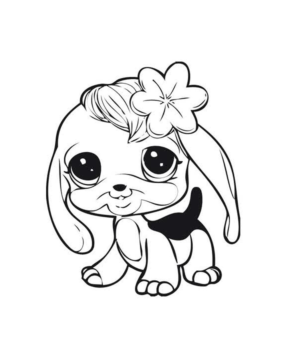 Littlest pet shops coloring page for my kids for Littlest pet shop coloring pages to color online