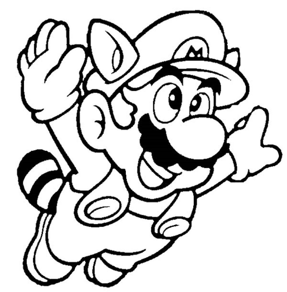20+ Free Super Mario Coloring Pages for Kids