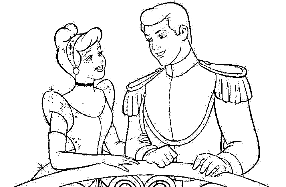 free printable cinderella coloring pages - Cinderella Coloring Pages