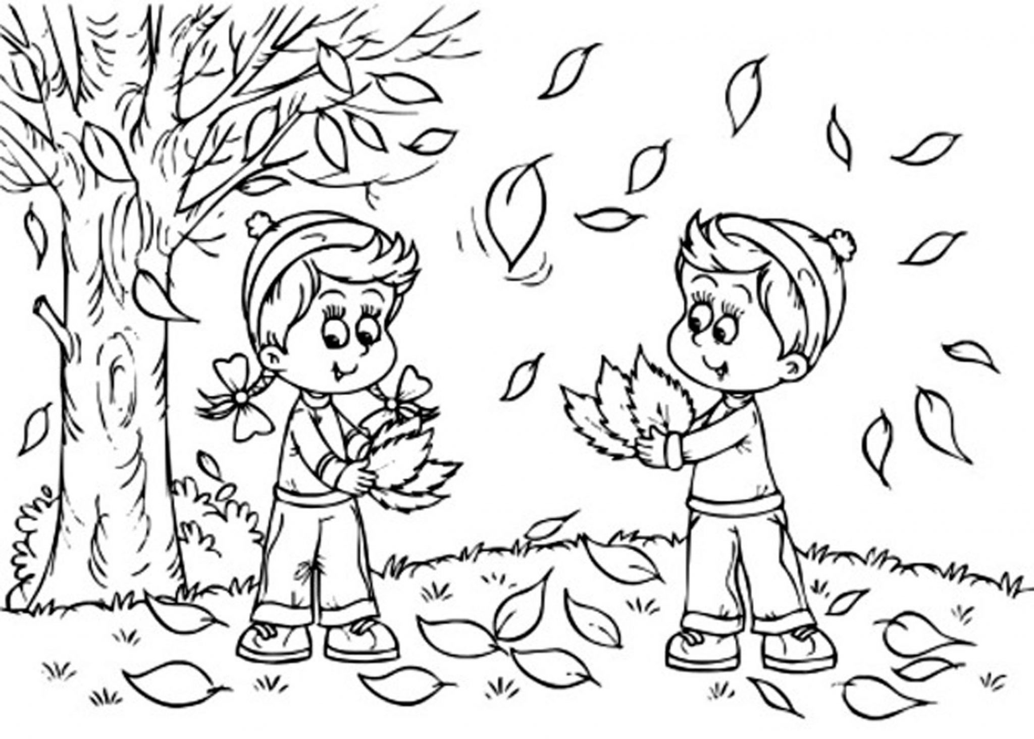 graphic about Fall Coloring Pages Printable Free named Print Down load - Drop Coloring Web pages Usefulness of Coloring