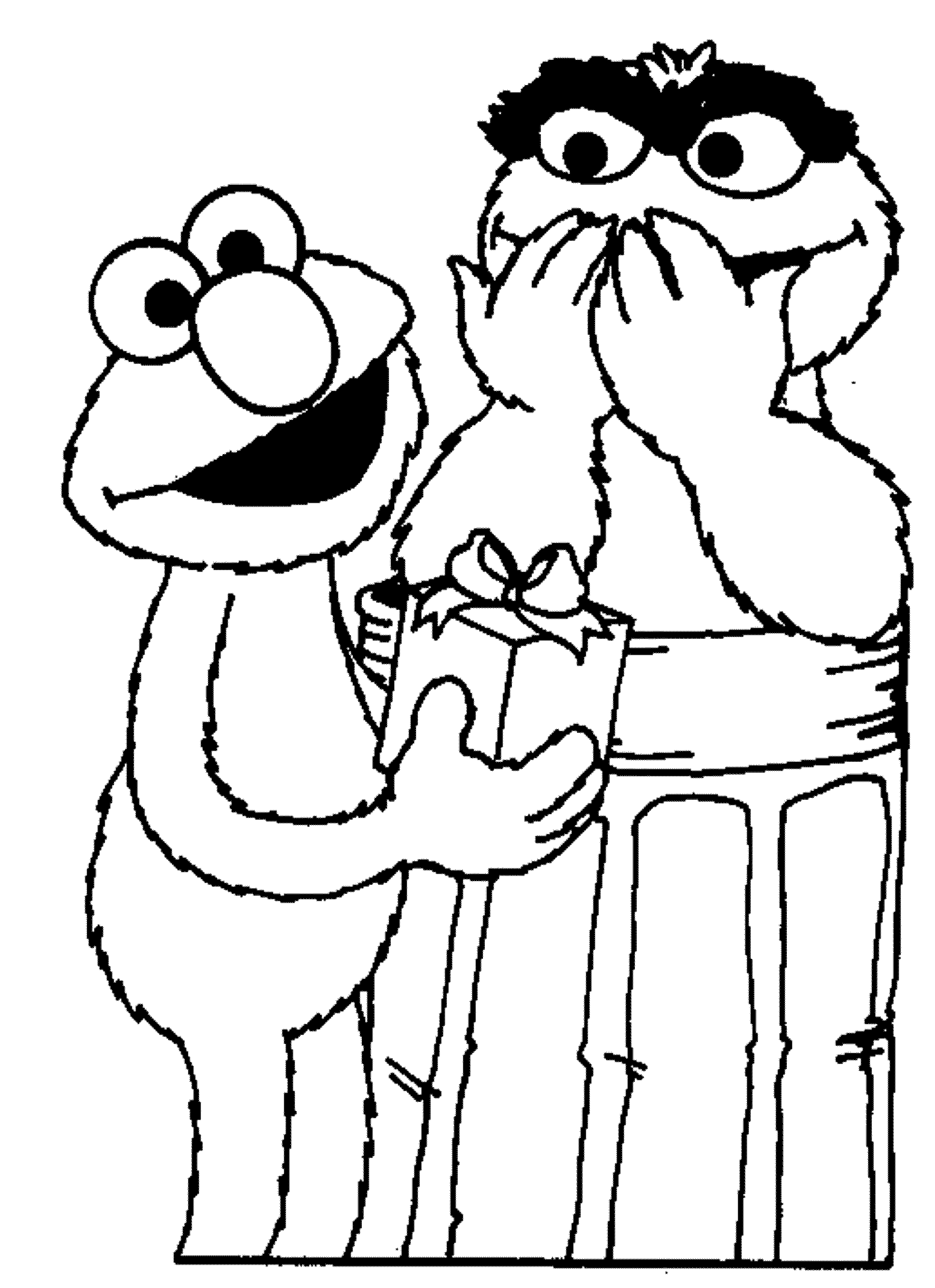 Print & Download - Elmo Coloring Pages for Children\'s Home Activity