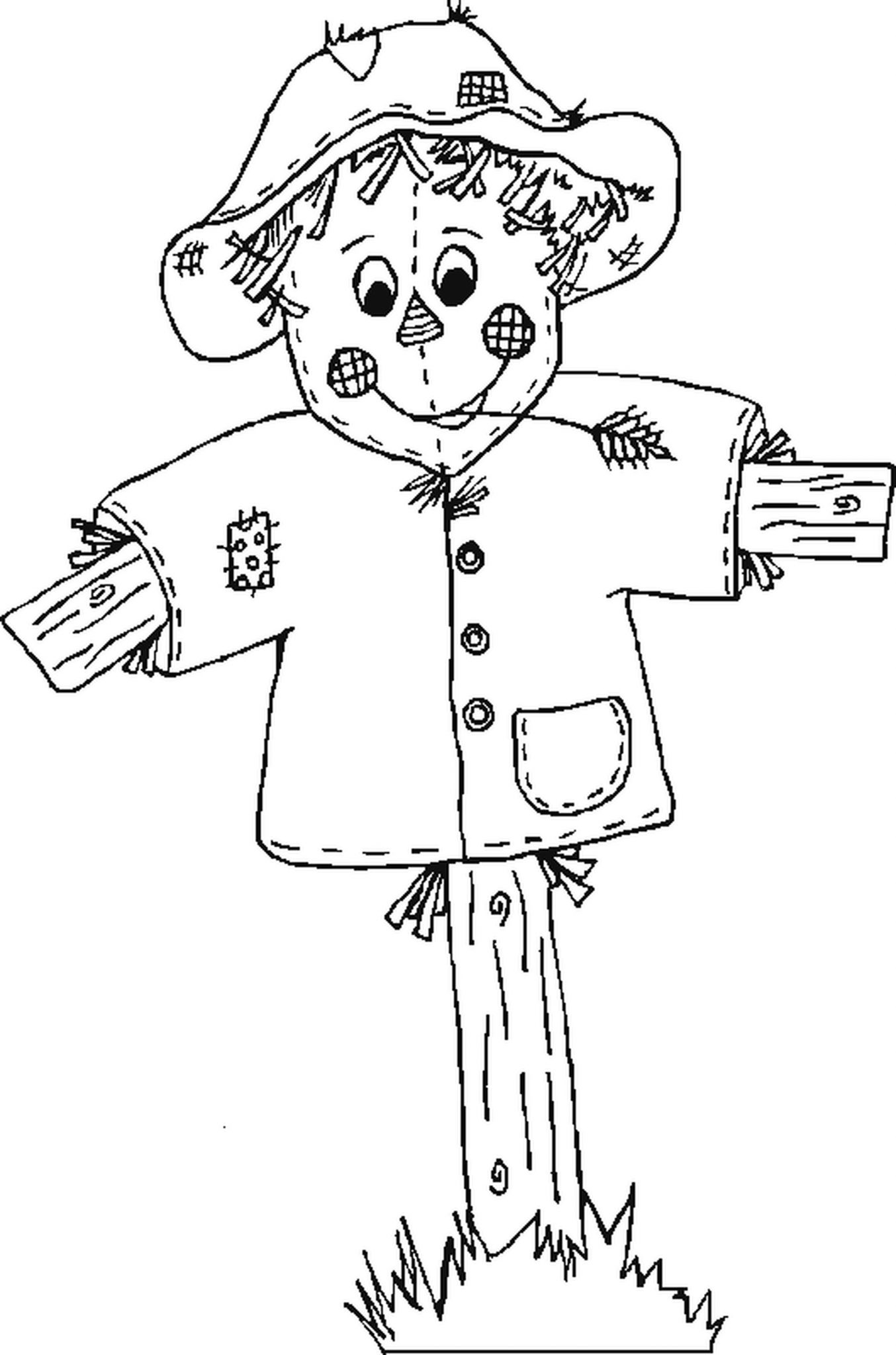 Halloween fall coloring pages for Fall and halloween coloring pages
