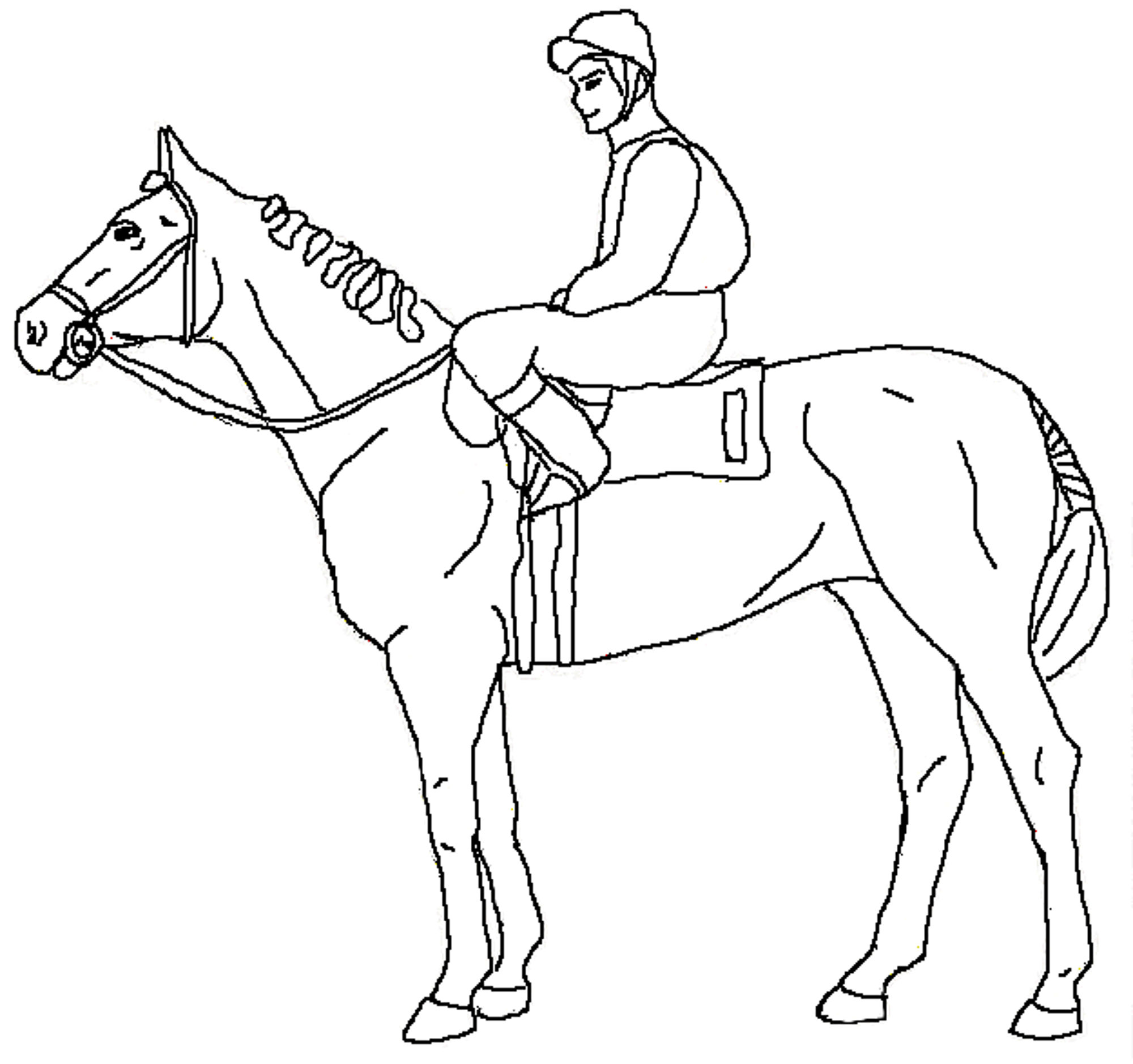 Fun Horse Coloring Pages for Your