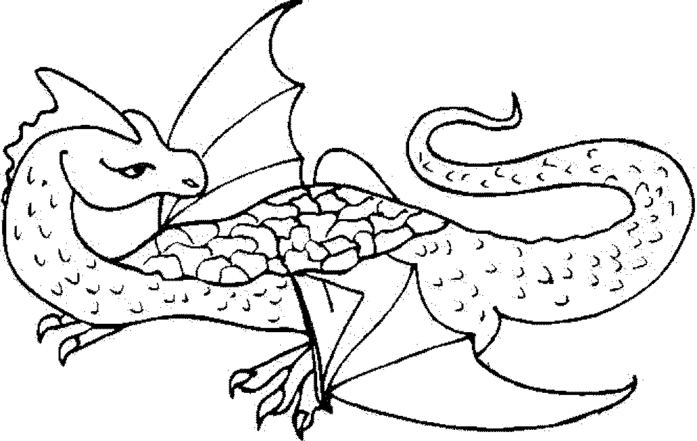 how to train your dragon coloring pages - Coloring Page Dragon