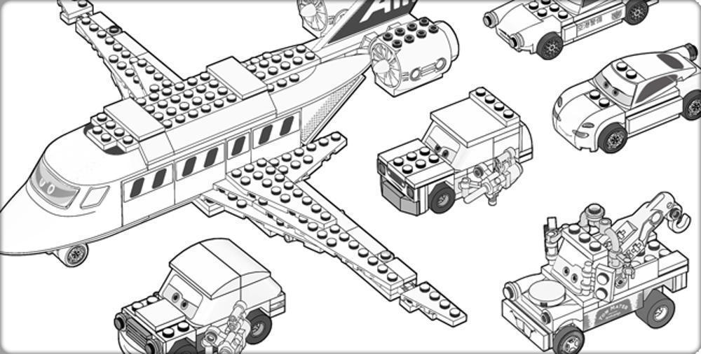 gallery of create your own lego coloring pages