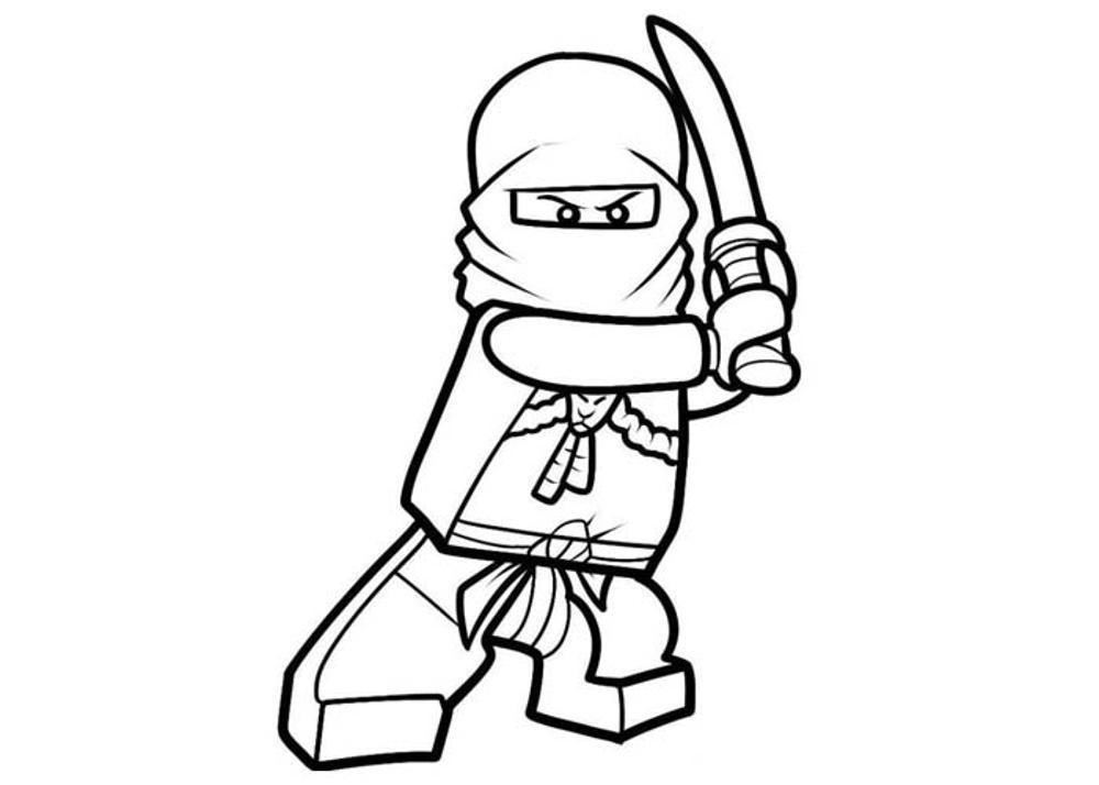 lego minifigure coloring pages - lego minifigure coloring pages
