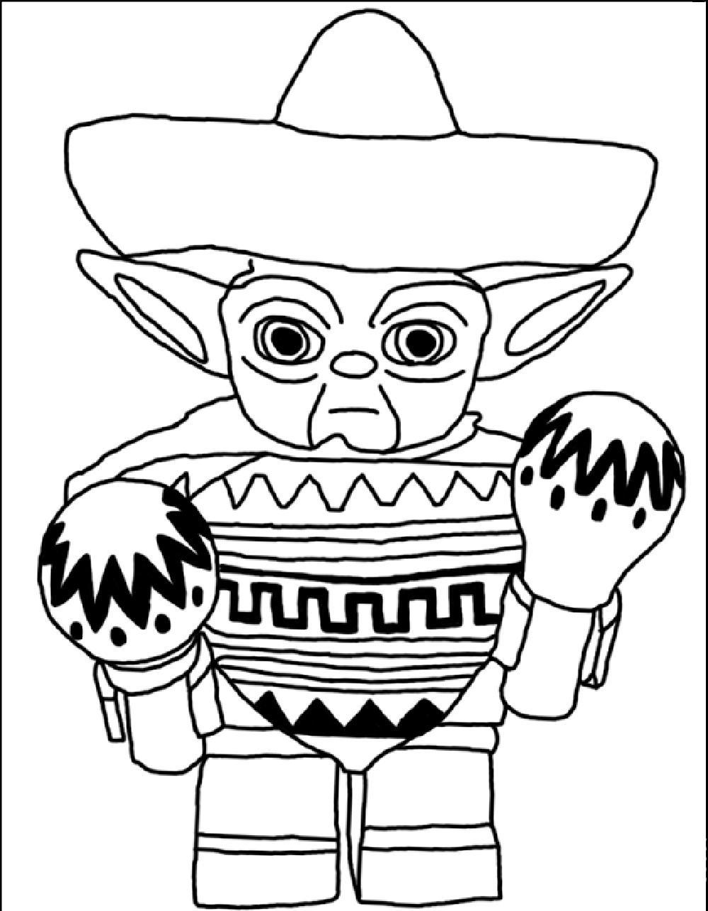 Lego Star Wars Coloring Book Pages