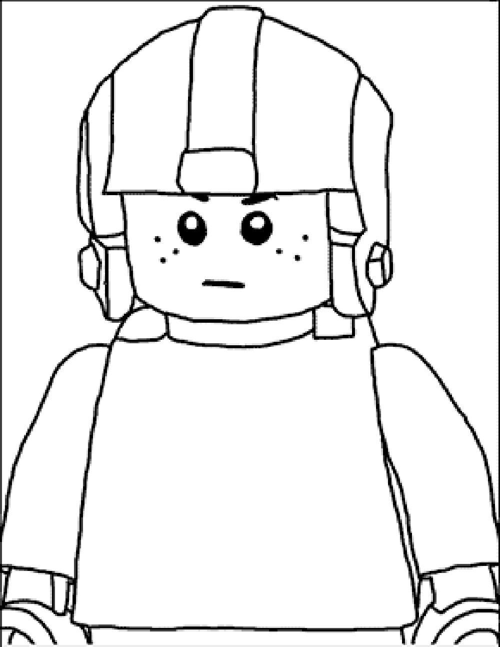 Create Your Own Lego Coloring Pages
