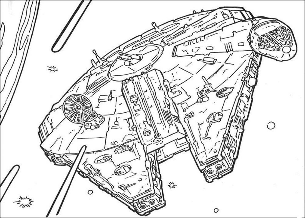 Lego Star Wars Luke Skywalker Coloring Pages