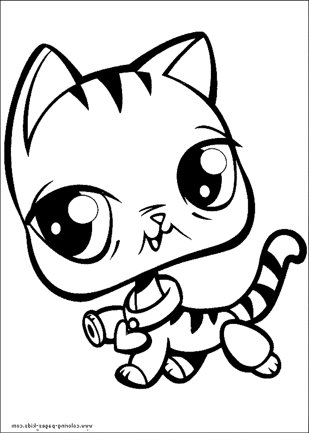 Littlest pet shop coloring page for Littlest pet shop coloring pages panda