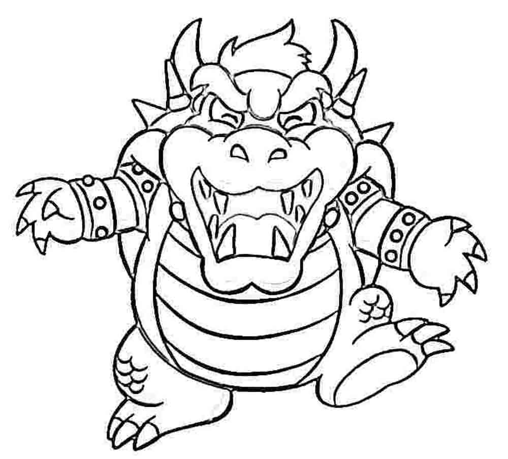 Mario Coloring Pages Themes - Best Apps For Kids