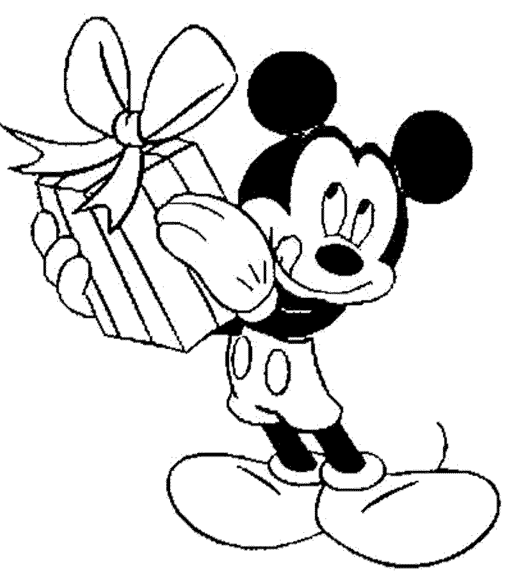 Coloring Pages Mickey Mouse Birthday : Learning through mickey mouse coloring pages