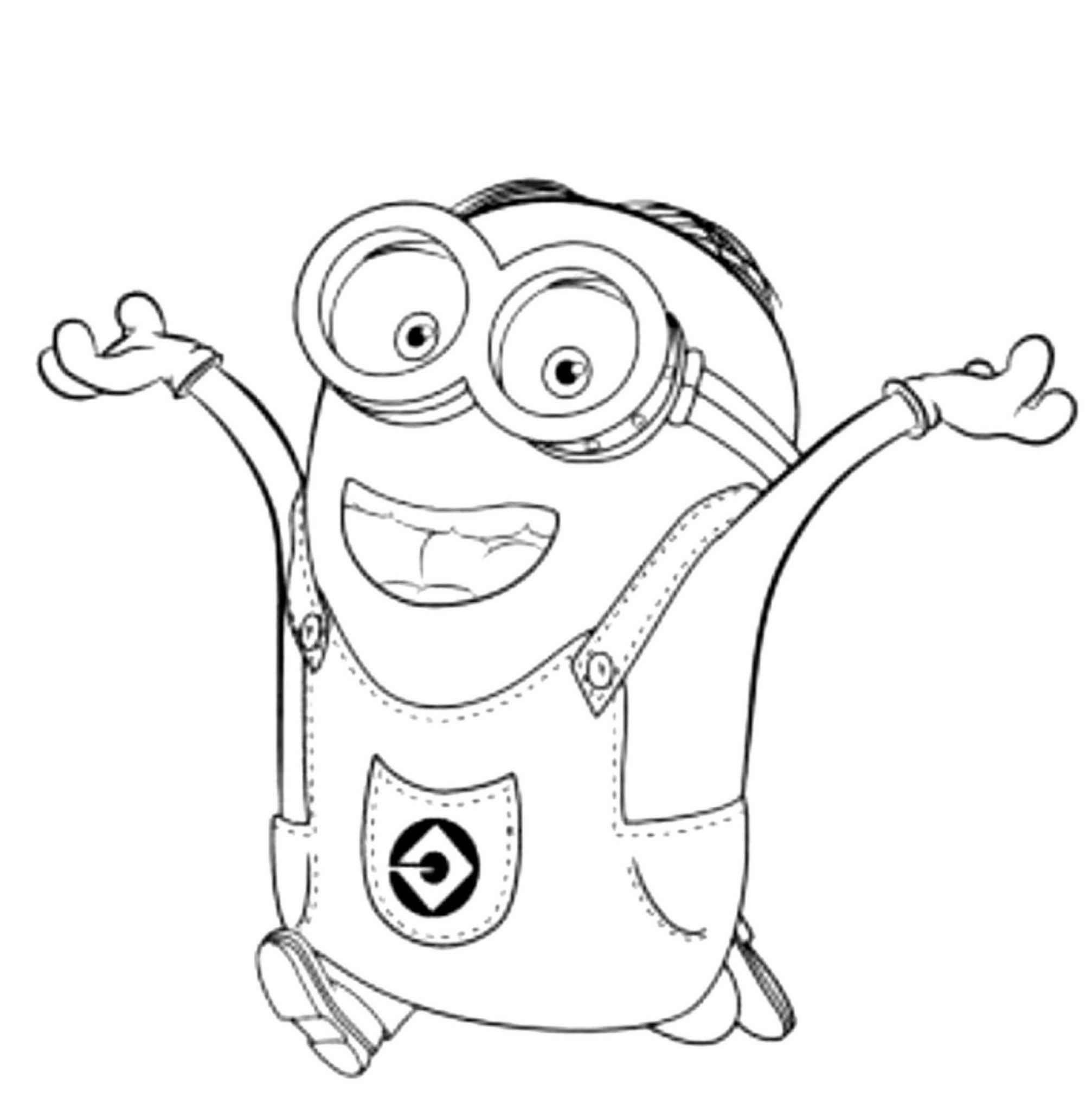 Minions Coloring Pages Printable