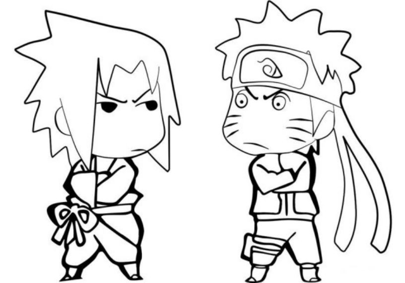 7500 Top Cute Naruto Coloring Pages Pictures