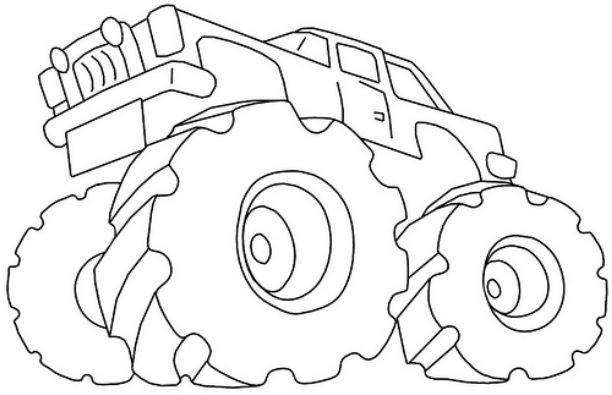 nitro-circus-monster-truck-coloring-pages | | BestAppsForKids.com
